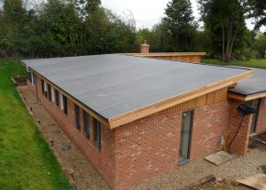 EPDM Rubber Roof on New Build Portsmouth
