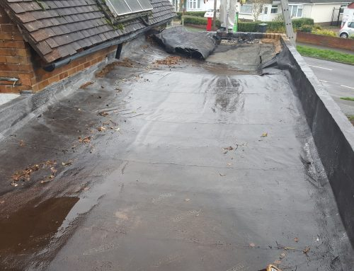 EPDM Roof – Before