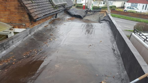 Permaroof-Portsmouth Flat Rubber Roof Before Replacement