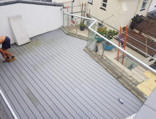 Decking over EPDM in Portsmouth