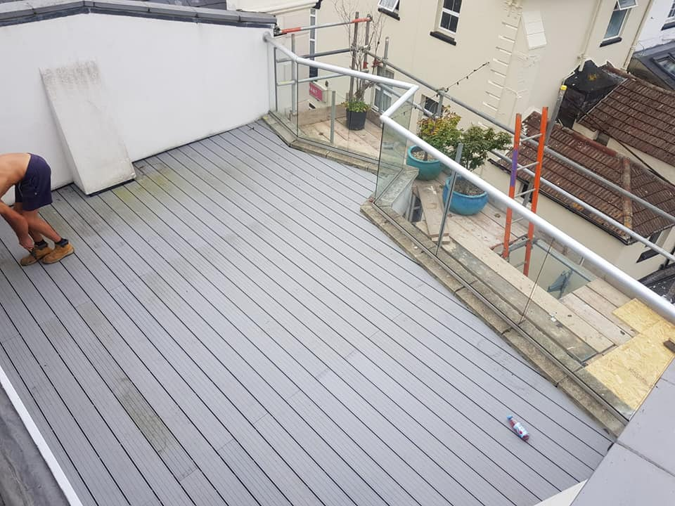 Decking by Permaroof Portsmouth roofers
