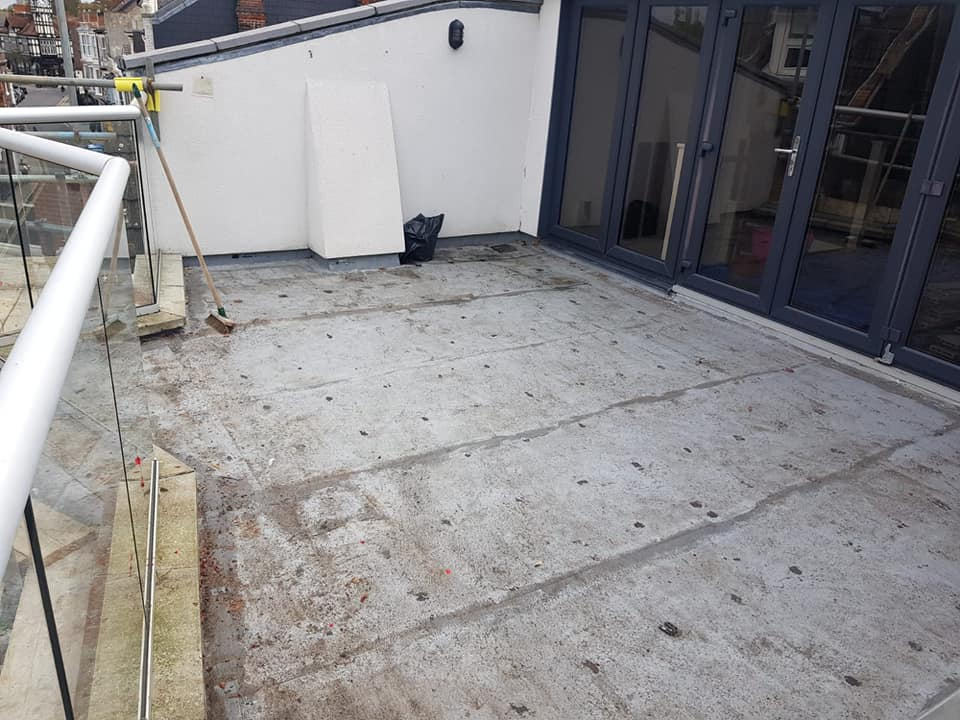Balcony Replacement - Clearing the Decks